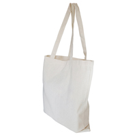 10oz Canvas Shopper with Bottom Gusset