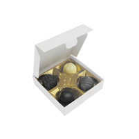 Box of 4 chocolates with different fillings 49g