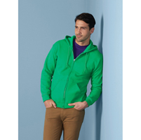 Mens Full Zip Hooded Sweat
