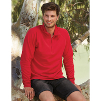 Mens Zip Neck Sweat