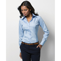 Ladies Long Sleeved Oxford Shirt
