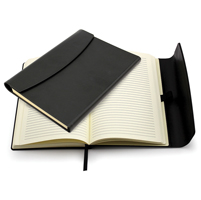 A5 Black Magnet Notebook