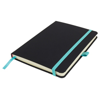 A5 Lined Notebook DeNiro with a pocket.