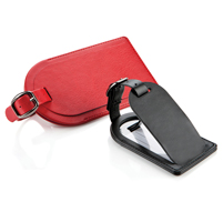 Belluno Leatherette Luggage Tag