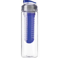 Drinking bottle (650 ml) with fruit infuser